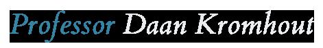 Professor Daan Kromhout Logo